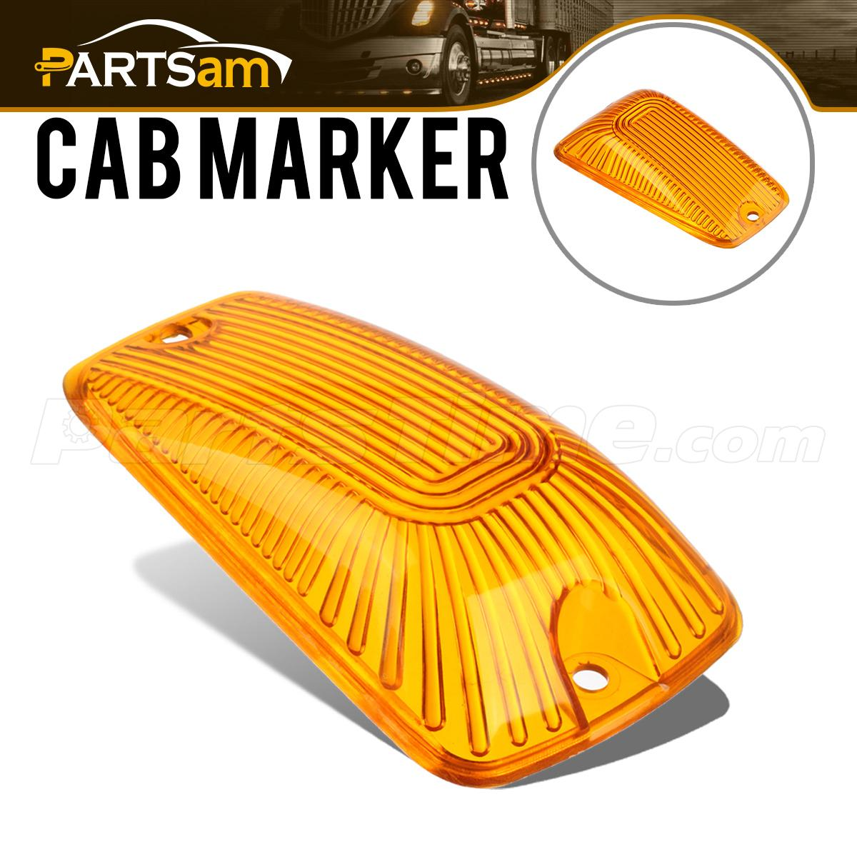 1997 c3500 rear side marker lights diagram cab roof clearance light lamp amber cover lens for chevy c ...