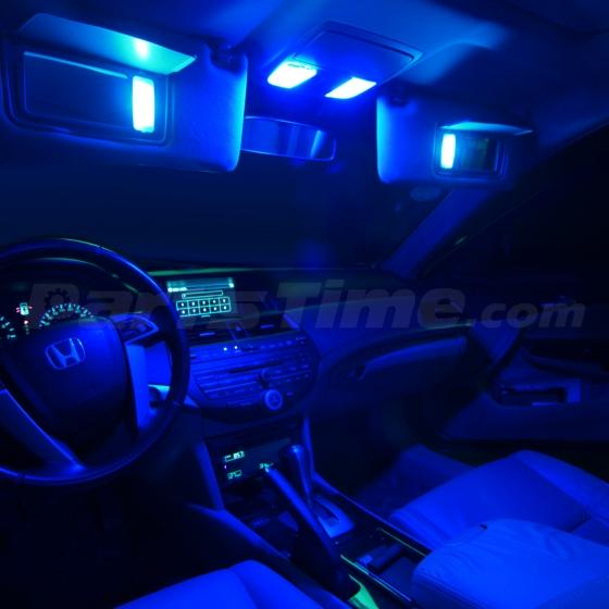 8x super blue led interior lights backup reverse for - 2015 honda accord interior illumination ...