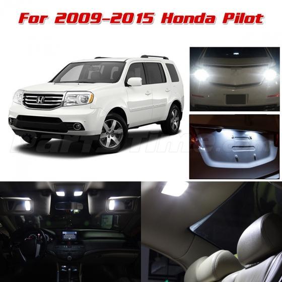 15xwhite Led Lights Interior Package Backup Light For 2009 2015 Honda Pilot Ebay