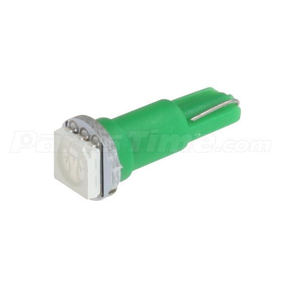 60x T5 74 Led Dashboard Speedometer Gauge Indicator Light: 20x T5 37 70 73 74 286 1-SMD Green Instrument Panel