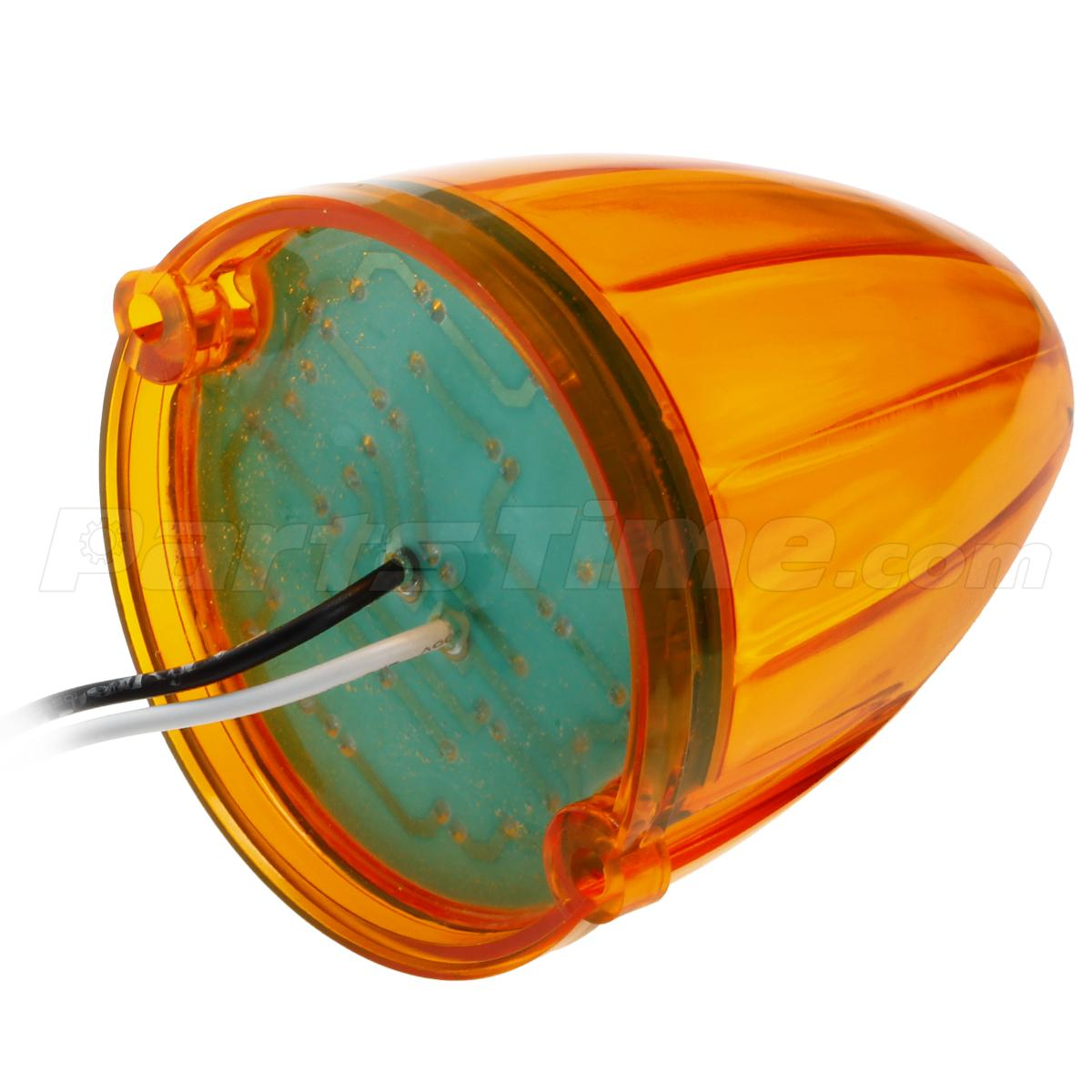 cab marker clearance lights amber 17 led replacement lens. Black Bedroom Furniture Sets. Home Design Ideas