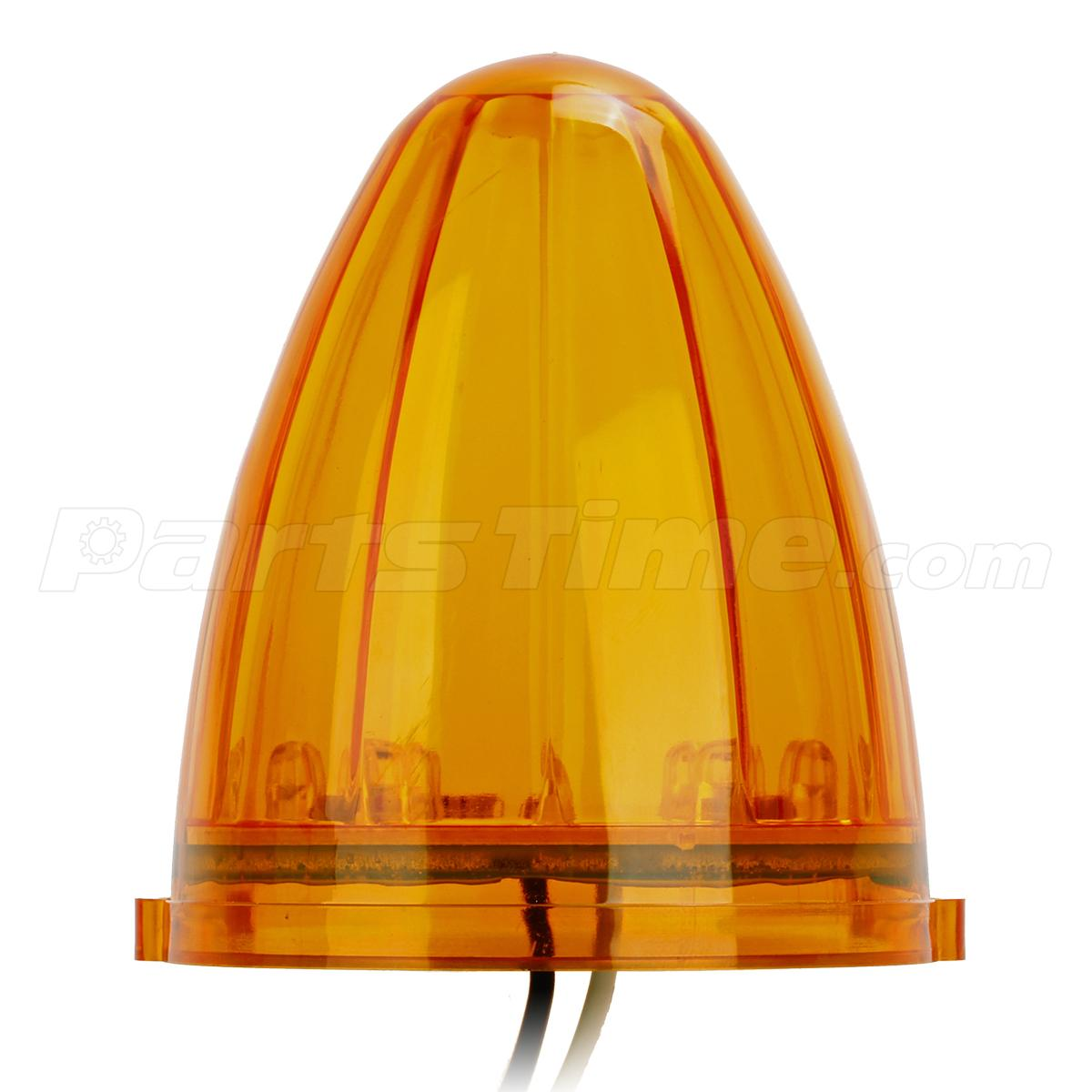 Cab Marker Clearance Lights Amber 17 Led Replacement Lens